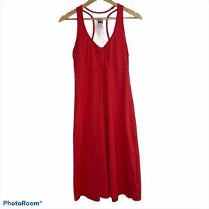 The North Face Red Tekware Abby Dress Sz Medium
